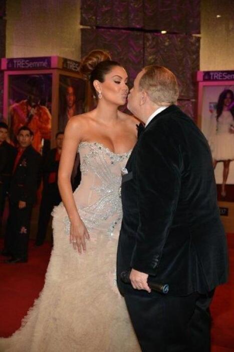 ¿Ya te acordaste del beso que Raúl y Ninel se dieron?
