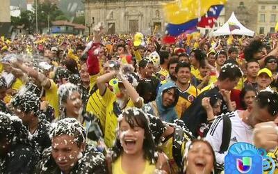 Colombia se prepara para los octavos de finales en el Mundial de Brasil...