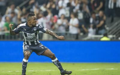 Dorlan Pabón fue el mejor jugador de Monterrey en la final de la Liga MX