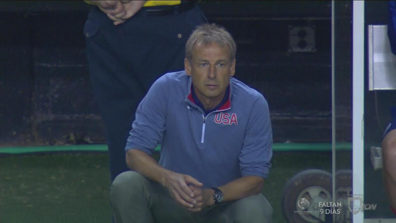 """Jurgen Klinsmann: """"Hay un poco de ira en el equipo por lo que pasó en Co..."""