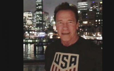 Revancha: Schwarzenegger se burla de Trump por su bajo índice de aceptación
