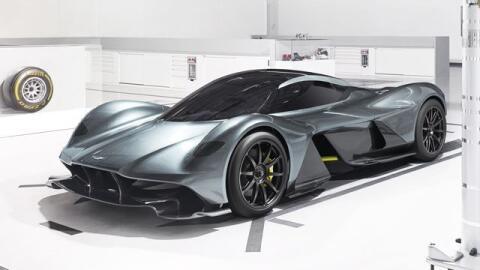 El RB-001 es el nuevo desarrollo de Aston Martin junto a la escuder&iacu...