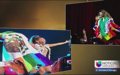 Fotografía en concierto de Thalia provoca controversia