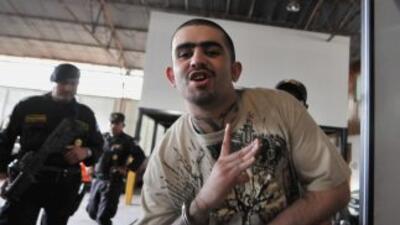 Miembro de la Mara 18 (M-18), pandilla que siembra el terror en Centroam...