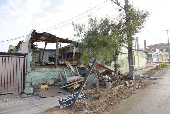 Las regiones afectadas fueron Arica y Parinacota, Tarapacá y Antofagasta...