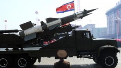 Se cree que el misil Musudan tiene un rango de tres mil kilómetros o más...