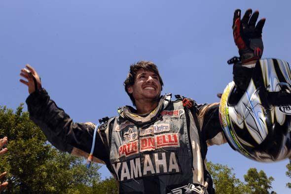 Patronelli, hermano mayor del vencedor del año pasado, finaliz&oa...