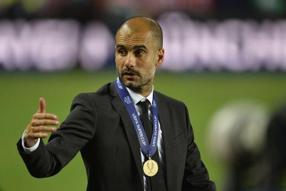 Para Guardiola fue su primer título con el Bayern en esta nueva etapa de...