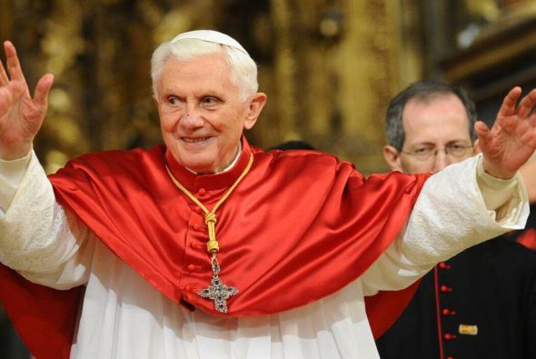 Joseph Ratzinger es el primer Papa en dimitir en casi 600 años y el homb...