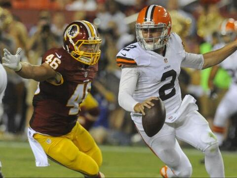 7.- Johnny Manziel, Cleveland Browns (AP-NFL).