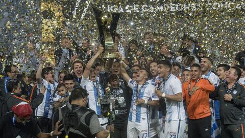 Pachuca es campeón de Concacaf