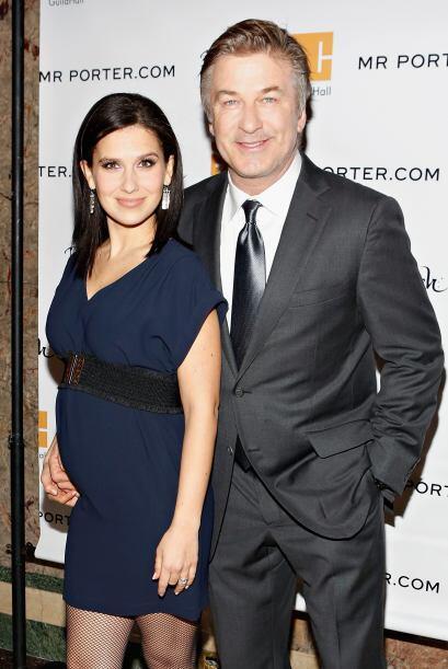Este sería el segundo hijo para Alec Baldwin quien tiene una nena...