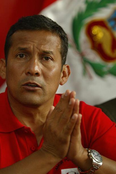 Es la segunda ocasión que Humala es candidato presidencial, en lo...