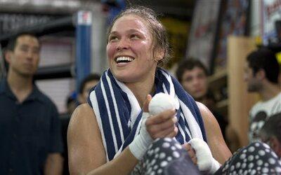 Ronda Rousey.