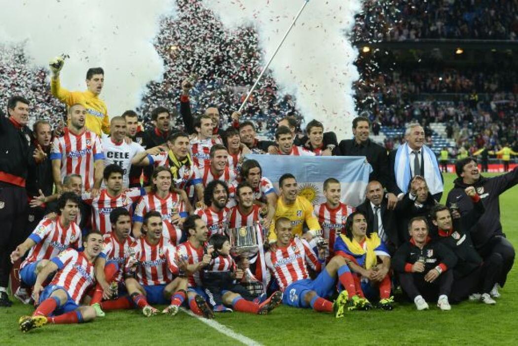 Y así el Atlético de Madrid se convirtió en el nuevo campeón de la Copa...