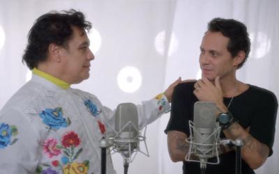 Juan Gabriel y Marc Anthony grabaron 'Yo te recuerdo'