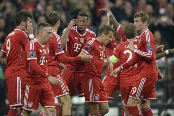 Casi de inmediato, el Bayern estaba de vuelta en la peea, pero aú...