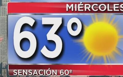 Día soleado y con temperaturas altas para este miércoles en Nueva York