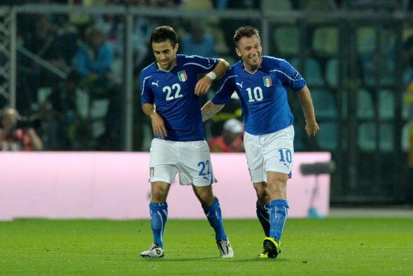 La selección también gozó de dicha etapa de Cassano y en las eliminatori...