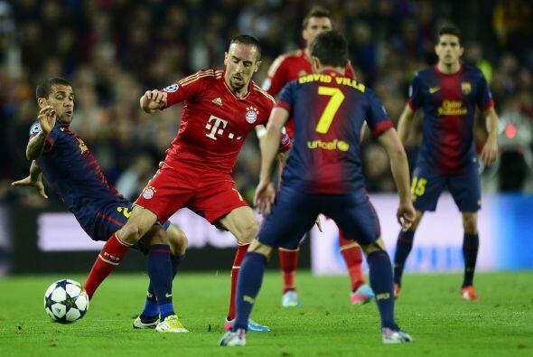 Los alemanes no tenían la posesión de la pelota, pero sí las ocasiones d...