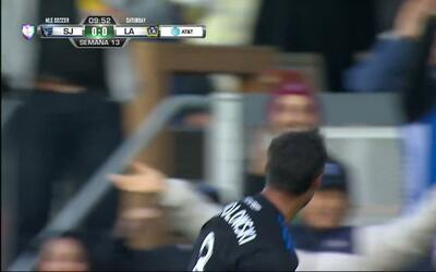 Goooolll!! ${PLAYER} mete el balón y marca para San Jose Earthquakes