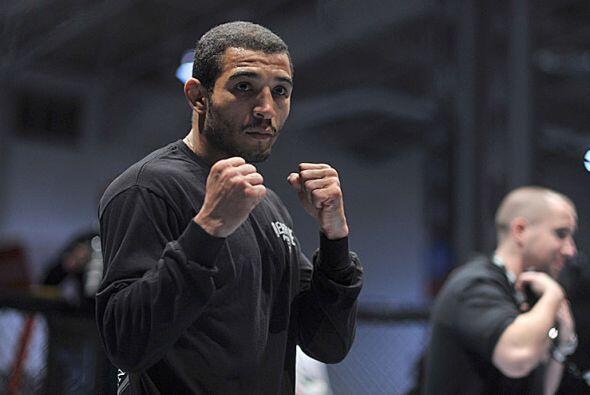 La técnica favorita de Aldo, cinturón negro en Jiu-jitsu brasileño, es l...