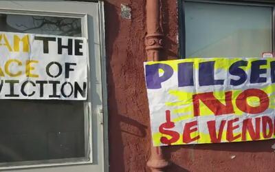 Arrendatarios denuncian que el dueño de una propiedad en Pilsen los ha a...