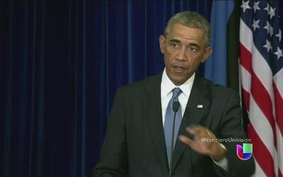 El presidente Obama planea destruir a terroristas de 'ISIS'