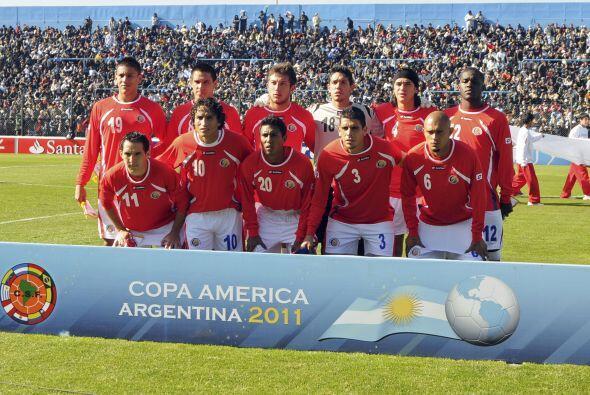 Costa Rica llegó con su equipo Sub 22, partía como víctima en este parti...