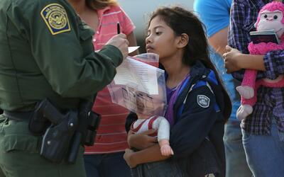 Más del 70% de los niños migrantes arrestados en el 2014 s...