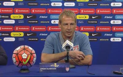 Klinsmann: 'Concacaf ha subido su nivel de competencia'