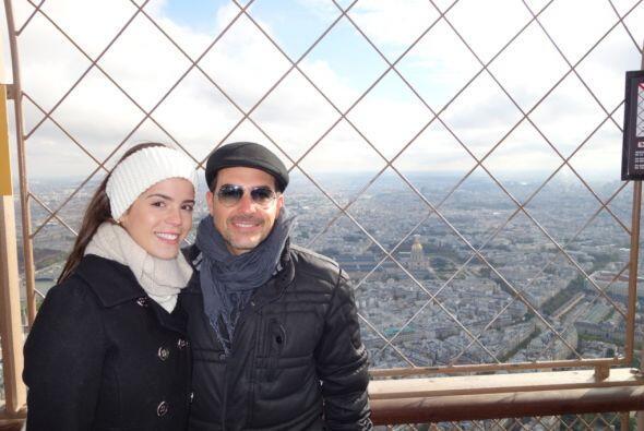 Desde la punta de la torre, donde Carlos tuvo una vista de toda la ciudad.