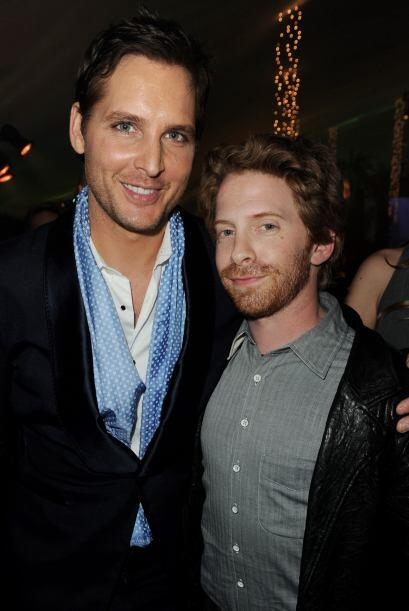 Aquí con el actor Peter Facinelli. Sin embargo, Seth es uno de los comed...