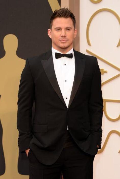 Channing Tatum, uno de los galanes mejores vestidos de la noche.