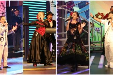 Mateo, Jazmín, Karito y Adrián, los finalistas de Estrellas del Futuro