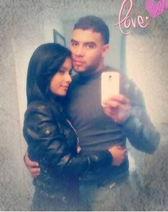 Abby y José nos enviaron esta romántica foto.