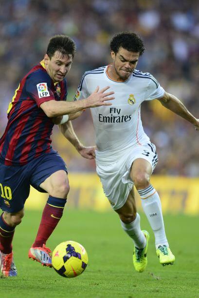 Messi no tuvo su mejor partido. No fue el jugador desequilibrante y deci...