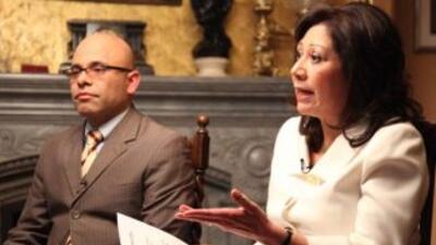 La sesión se llevó a cabo en la Casa Blanca en exclusiva para Univision...