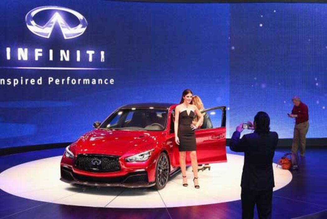 Infiniti presumió el Q50 Eau Rouge durante el autoshow de Detroit.