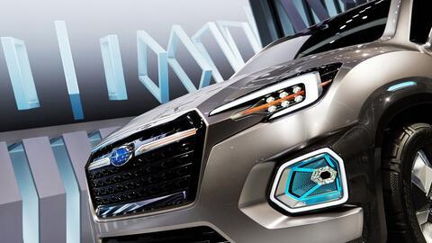Esta es la nueva Subaru Viziv-7 Concept