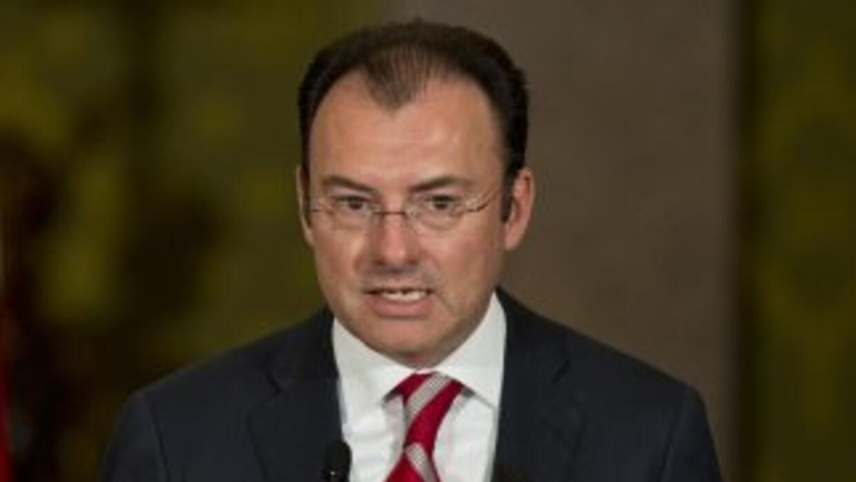 Elsecretario de Hacienda mexicano, Luis Videgaray.