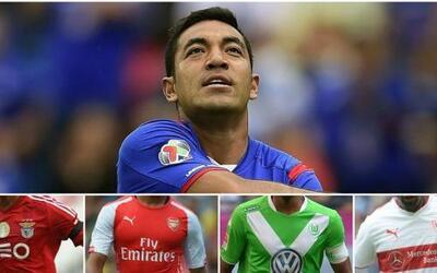 El futbolista ha sido vinculado varias ocasiones con el fútbol europeo y...