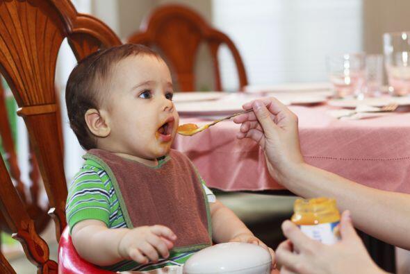 Preséntale los alimentos gradualmente. Es importantísimo p...