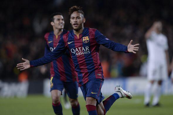 Por su parte, a través de Messi, Neymar y Suárez, el Barce...