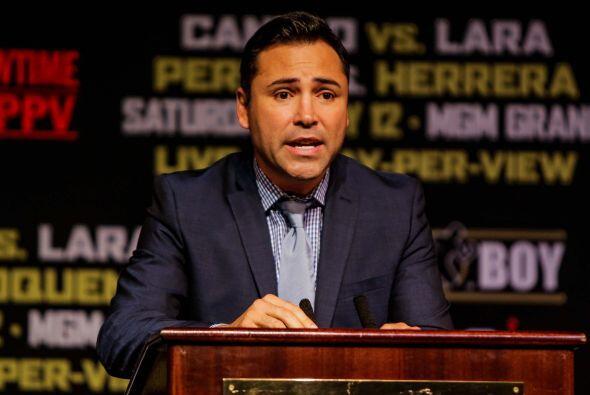 Oscar De la Hoya dijo que esta función será inolvidable (F...