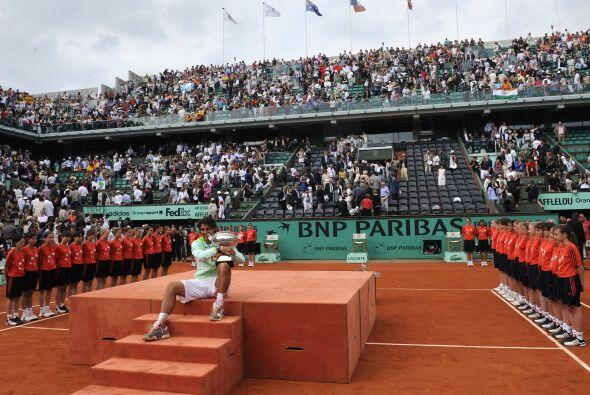 Llegó a París tras ganar los tres Masters 1.000 sobre tierra (Montercarl...