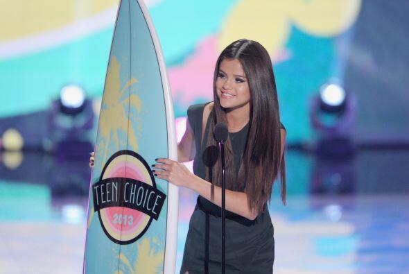 Selena Gomez también fue de las grandes ganadoras.  - ¿Se mereció el pre...