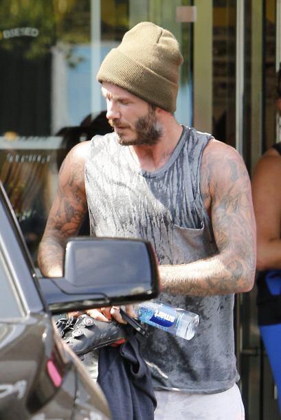 Beckham se ha vuelto un fanático del gimnasio.Más videos d...