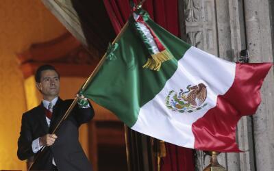 Los Pinos es la guarida verde de Peña Nieto