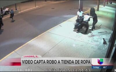 Captan en video robo de tienda